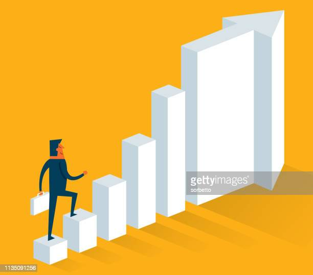 Moving Up - Businessman