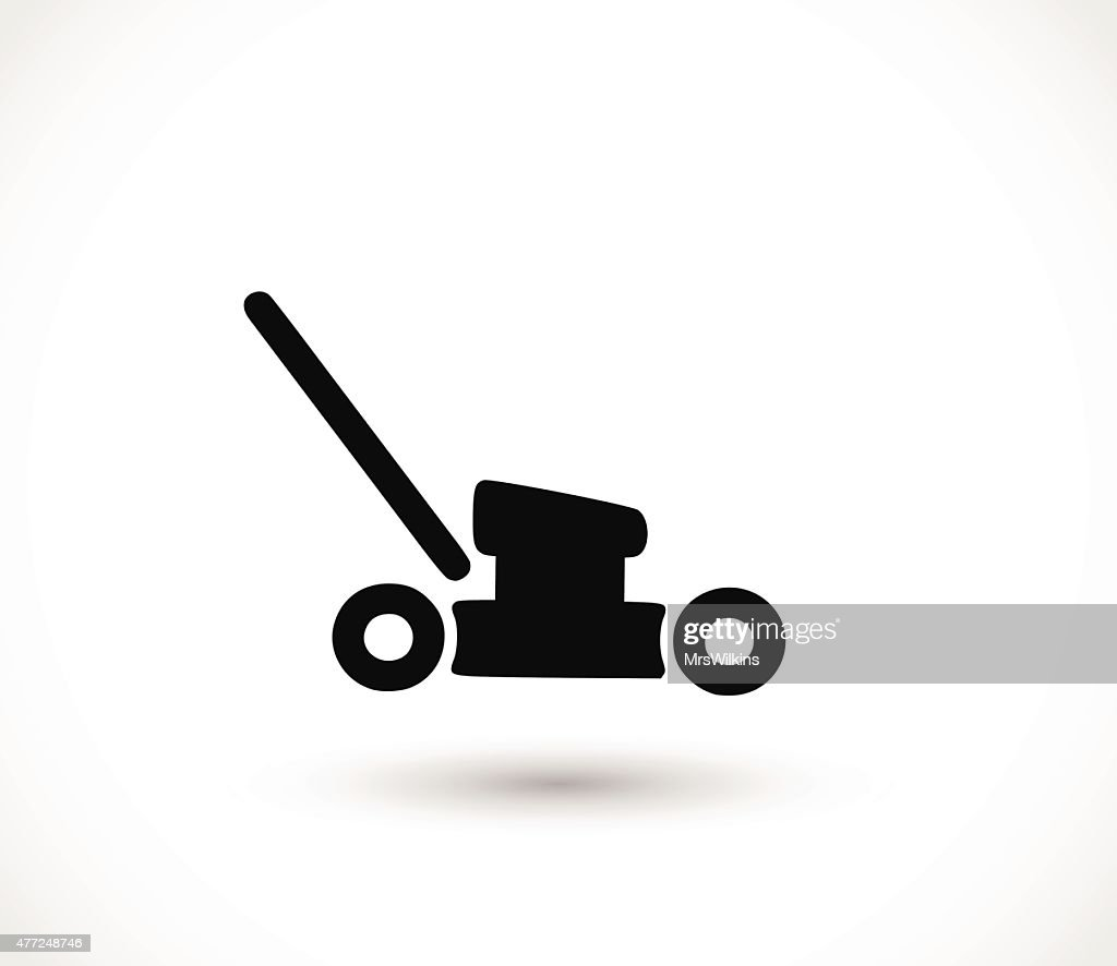 Mower icon vector illustration
