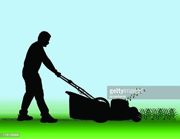 芝刈りは、ローン(EPS
