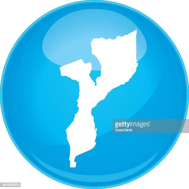 mozambique sphere map - mozambique stock illustrations, clip art, cartoons, & icons