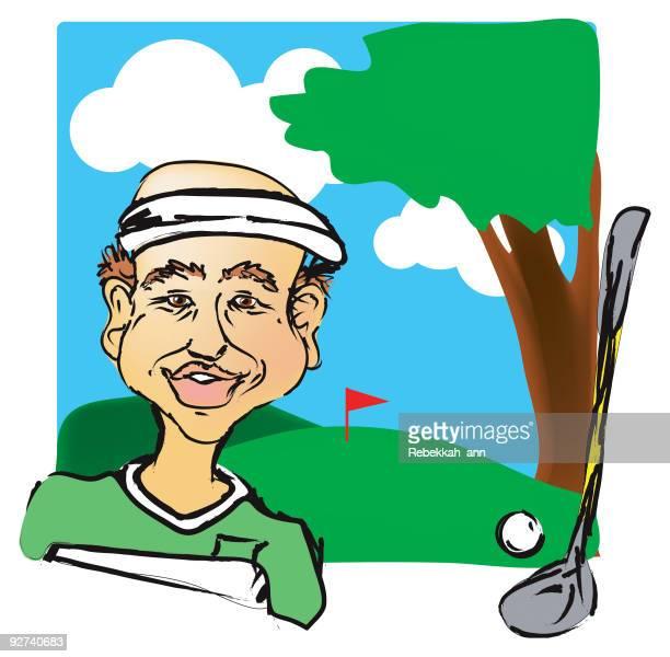 mr. putt putt - helmet visor stock illustrations, clip art, cartoons, & icons