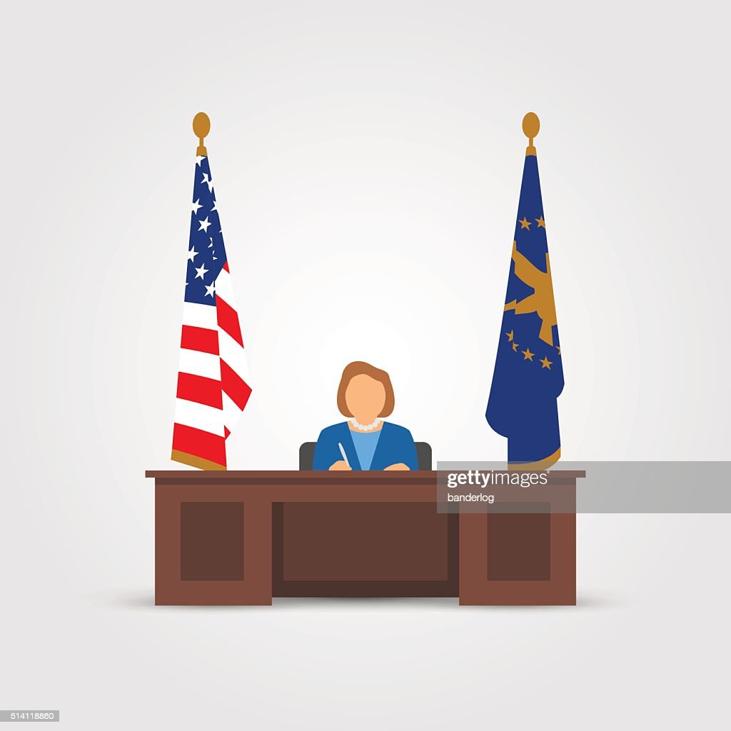 Mrs president in Oval Office