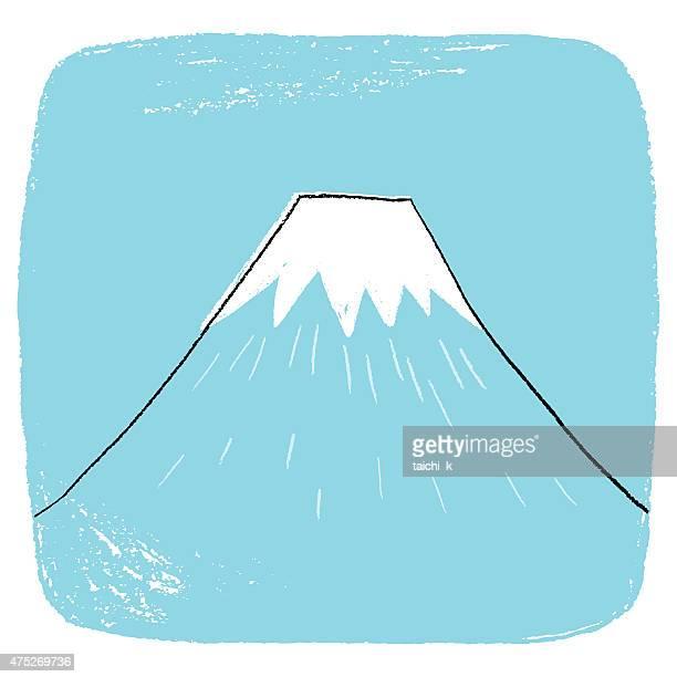 60点の富士山のイラスト素材クリップアート素材マンガ素材アイコン