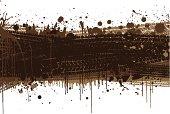 Muddy tyre background