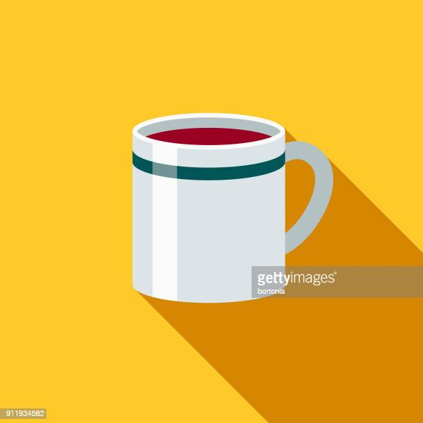 Mug Flat Design Coffee & Tea Icon