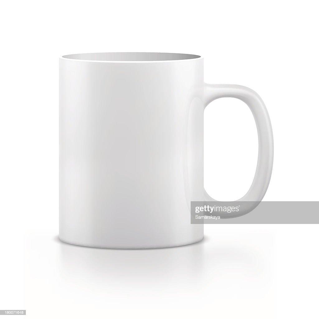 Kaffeebecher oder Teebecher : Stock-Illustration