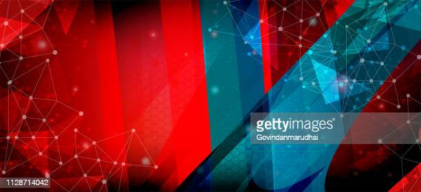 multi color background design and creative geometric wallpaper - lightweight stock illustrations