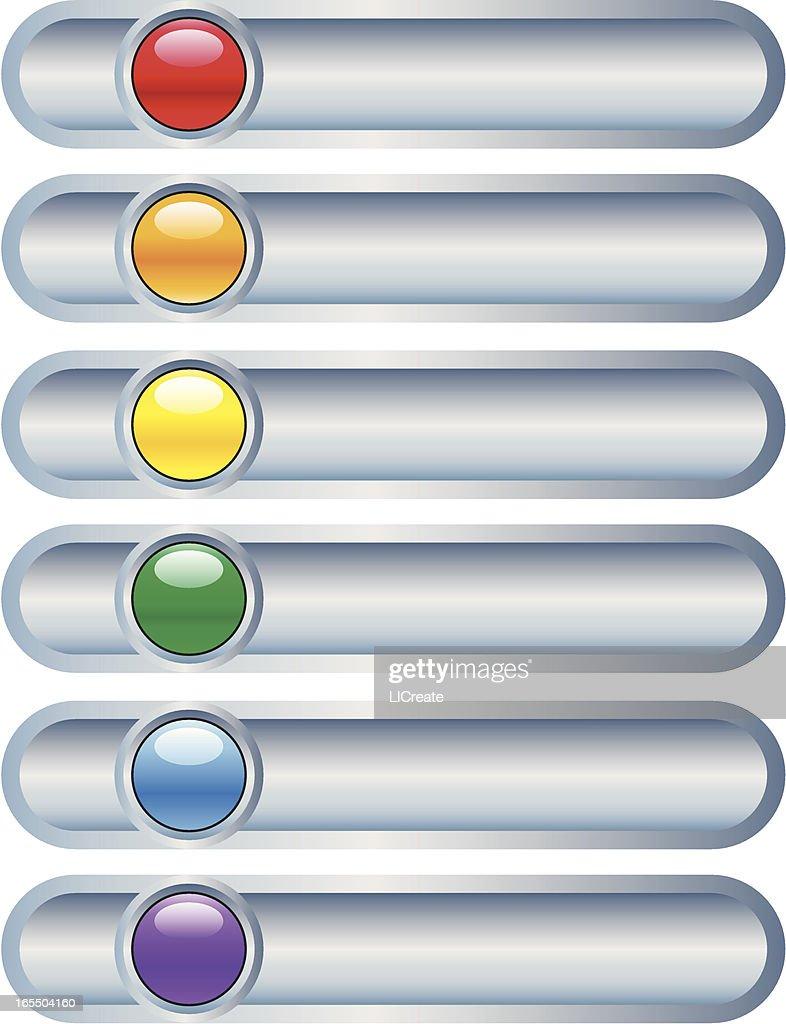 Multi Colored Sliders