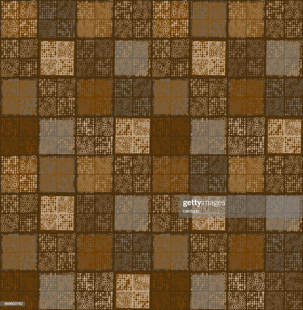 Multi Farben nahtlose Kachelmuster : Stock-Illustration