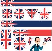 Multi shaped Union Jack