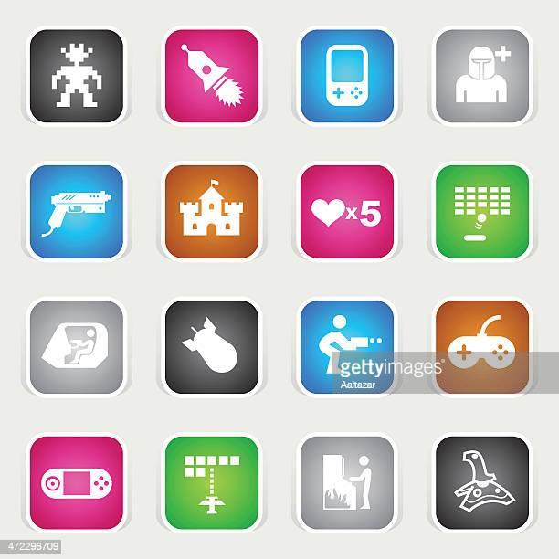 Multicolor Icons - Arcade Gaming