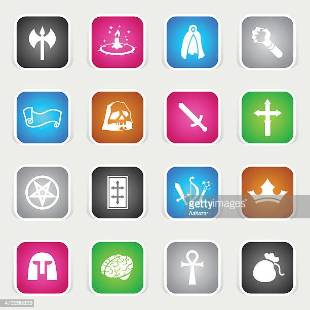 Multicolor Icons - Role Playing Games