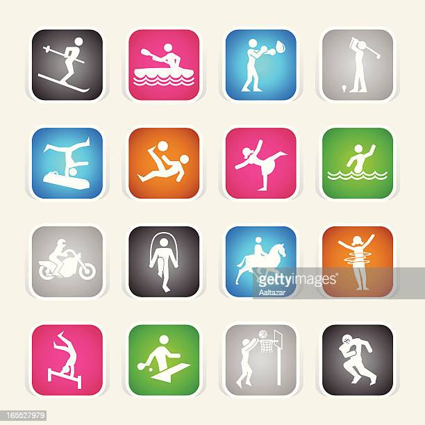 Multicolor Icons - Sports