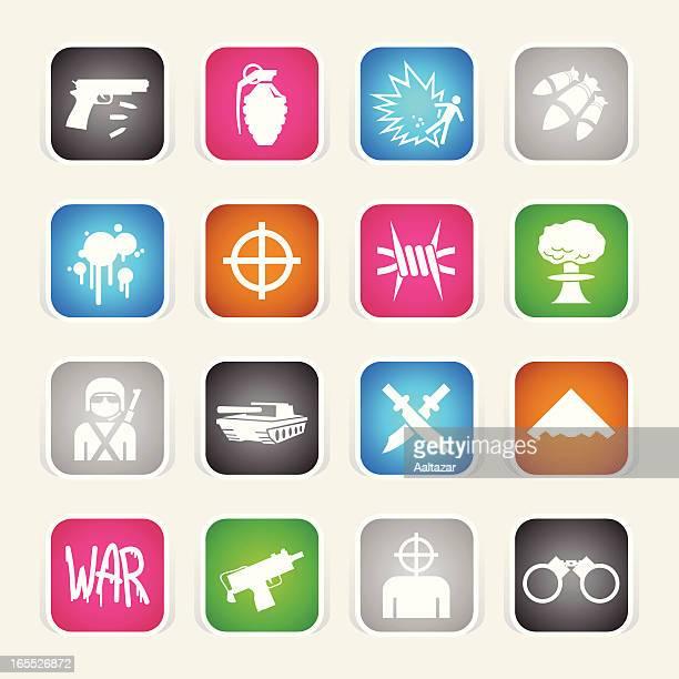 Multicolor Icons - War