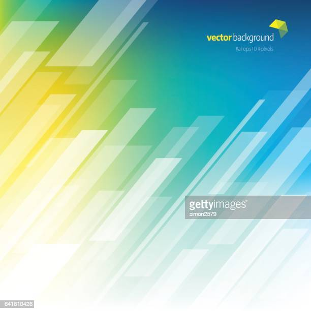 Multi-colored background with fading white line pattern