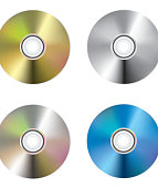 CD/DVD multicolored Disk