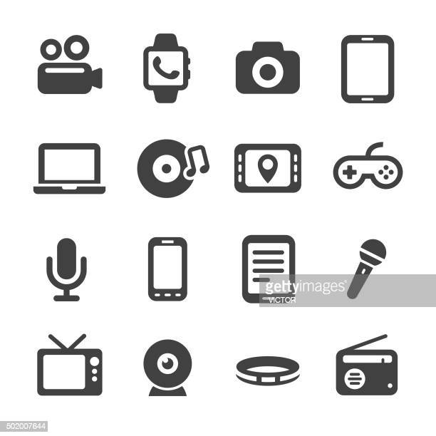 Multimedia and Equipment Icons - Acme Series