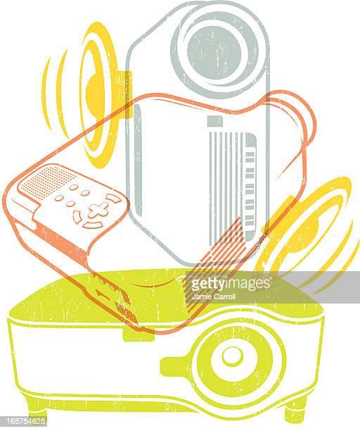 Multimedia data projectors