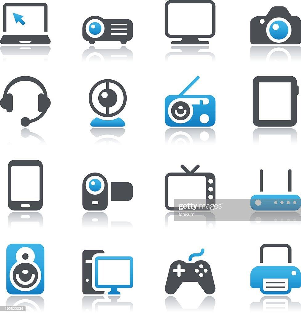 Multimedia Device Icons