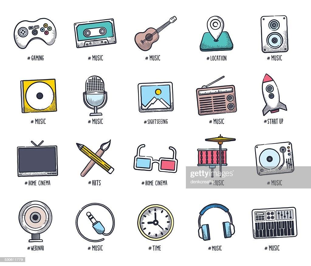 Multimedia Doodles