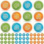 multimedia icons - magico bola
