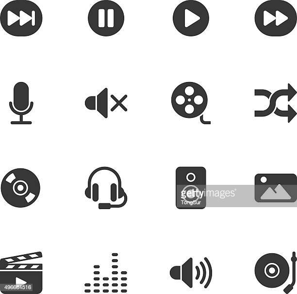 Multimedia icons - Regular