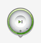 Multimedia player UI