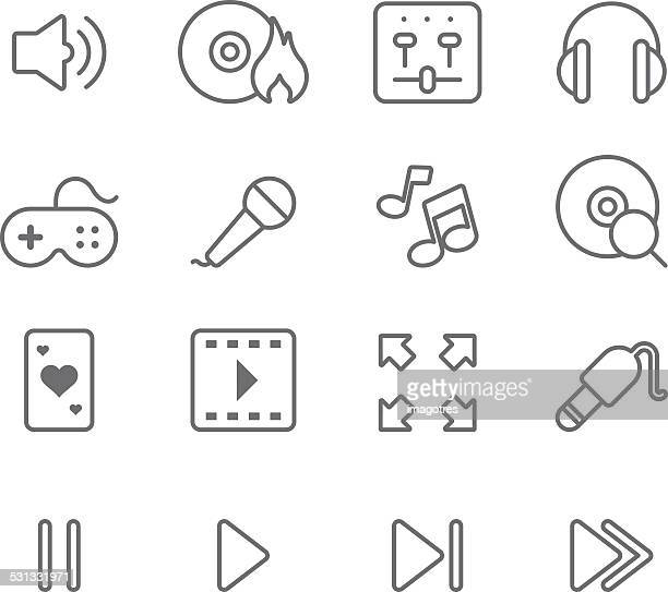 Multimedia - Simple Icons