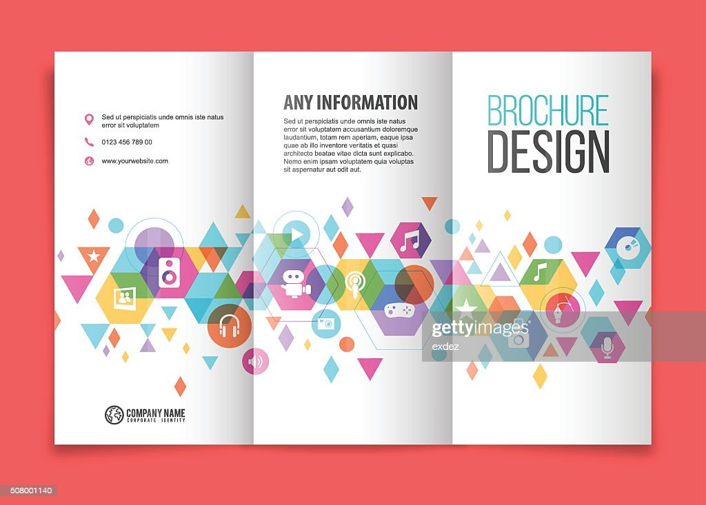 Multimedia tri fold brochure