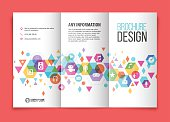 Multimedia tri fold brochure
