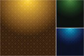 Multiple casino backgrounds in three different colors