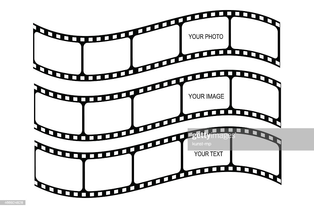 Multiple designs of a film strip set