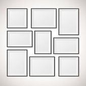 Multiple Frames, vector illustration
