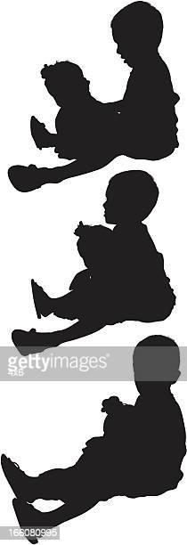 ilustraciones, imágenes clip art, dibujos animados e iconos de stock de múltiples imágenes de niños - obesidad infantil