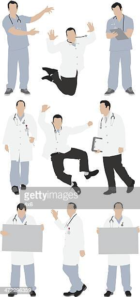 複数のイメージの医師
