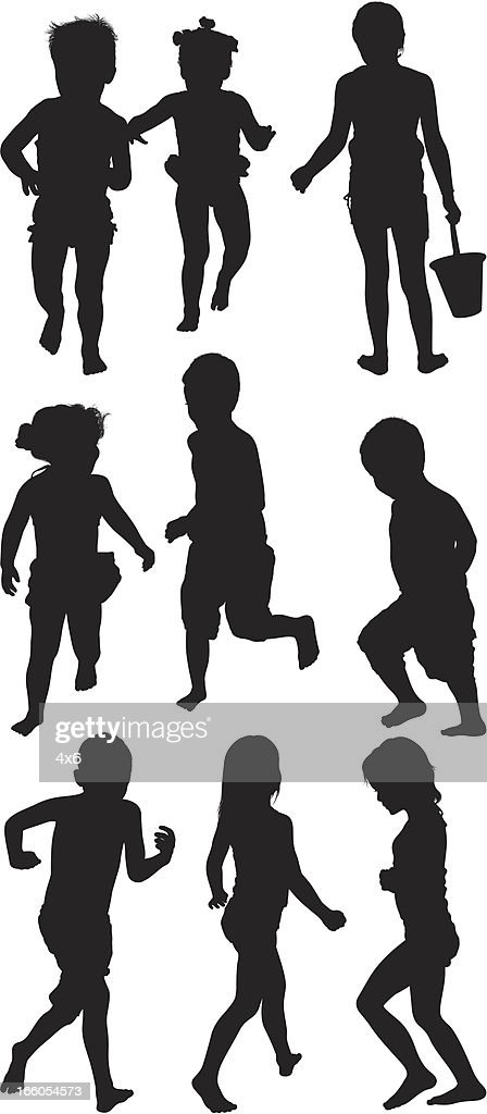Multiple images of kids