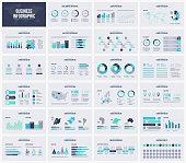 Multipurpose presentation vector template infographic.