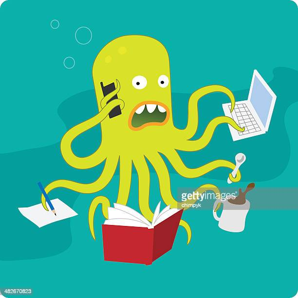 Multi-Tasking Octopus