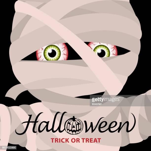 Mummy Halloween Party Invitation
