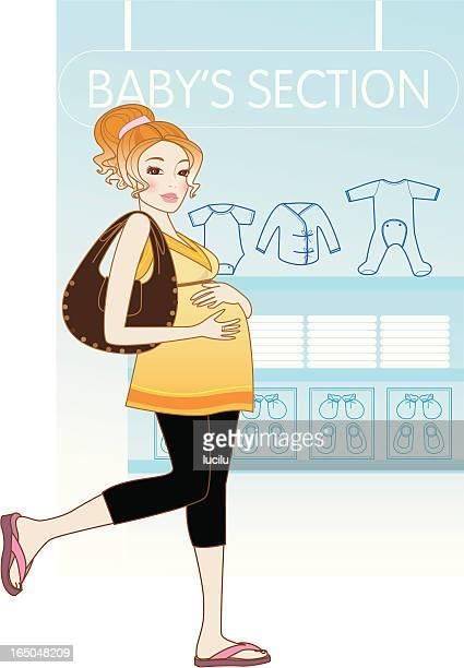 mum-to-be - animal uterus stock illustrations, clip art, cartoons, & icons