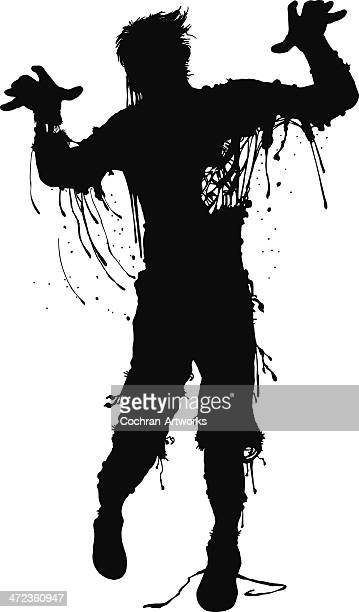 murphy mcgee: zombie at large - zombie stock illustrations, clip art, cartoons, & icons