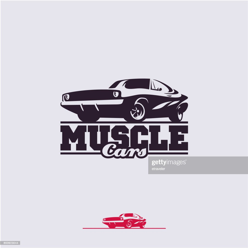 muscle cars label