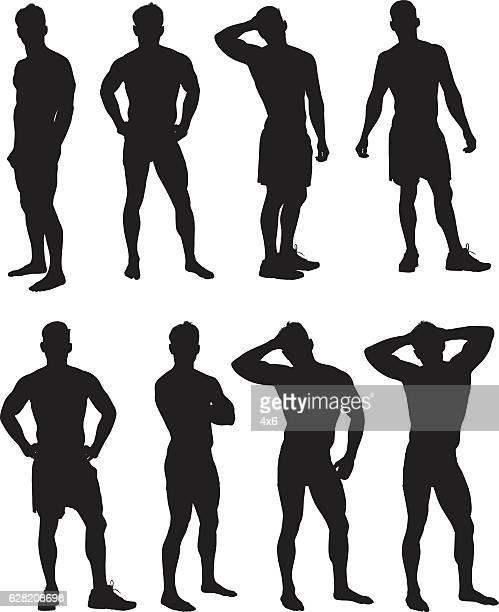 筋肉男の様々な処置