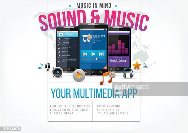 Music app for smartphone