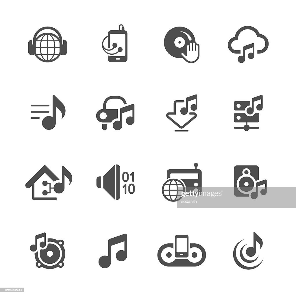 Music & Audio icons | prime series