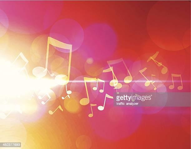 illustrazioni stock, clip art, cartoni animati e icone di tendenza di musica di sottofondo - chiave di violino
