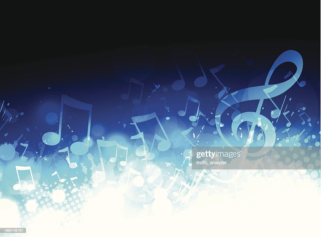 Music Background Images: Music Background Vector Art