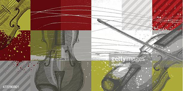 music background - classical stock illustrations
