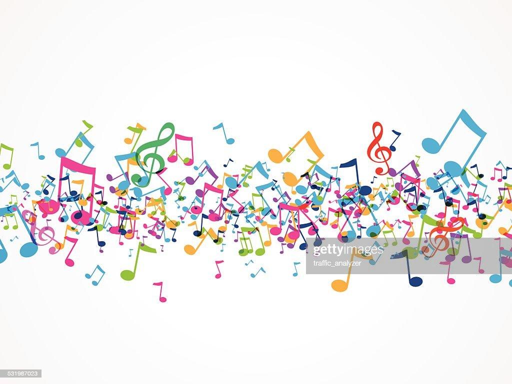 Music background : stock illustration