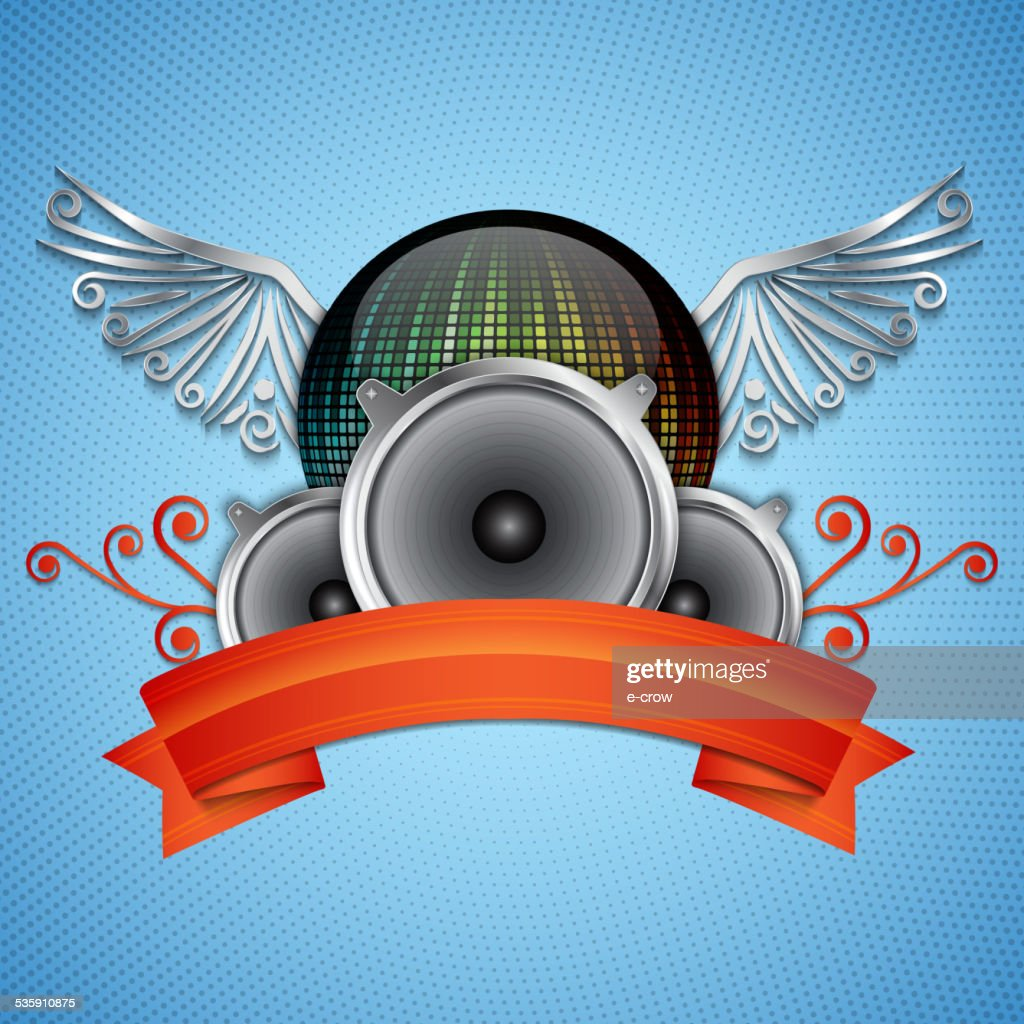 Música de fondo : Arte vectorial